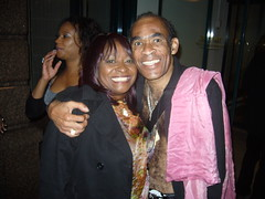 Linda Lee Hopkins with Bobby Farrell (Boney M.)