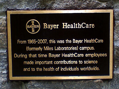 Bayer West Haven Plaque