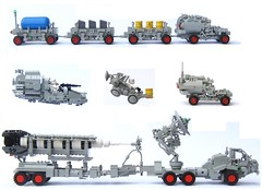 Support Vehicles (Legoloverman) Tags: classic lego space classicspace neoclassicspace