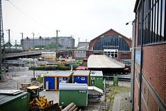 Brückenbau Amsinckstraße Hamburg Deichtorhalten (qnibert00) Tags: zug brücke bahn hvv verspätung hochbahn tiefbau brcke fotografirma amsinckstrase amsinckstra§e versptung