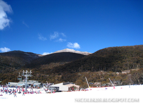 gorgeous sunny mountain of thredbo
