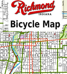 Richmond Indiana bike map