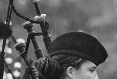 Piping Through the Downpour ~ North Berwick Highland Games, Scotland (weatherly_s) Tags: music youth drums scotland pipes piper bagpipes northberwick bagpiper highlandgames bagpipe pipeband nwjpb northwestjuniorpipeband whitespotpipeband