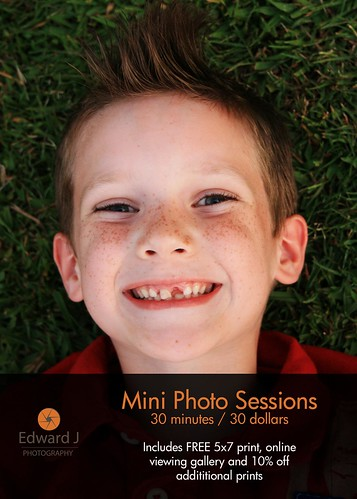 Mini Sessions!  (front)