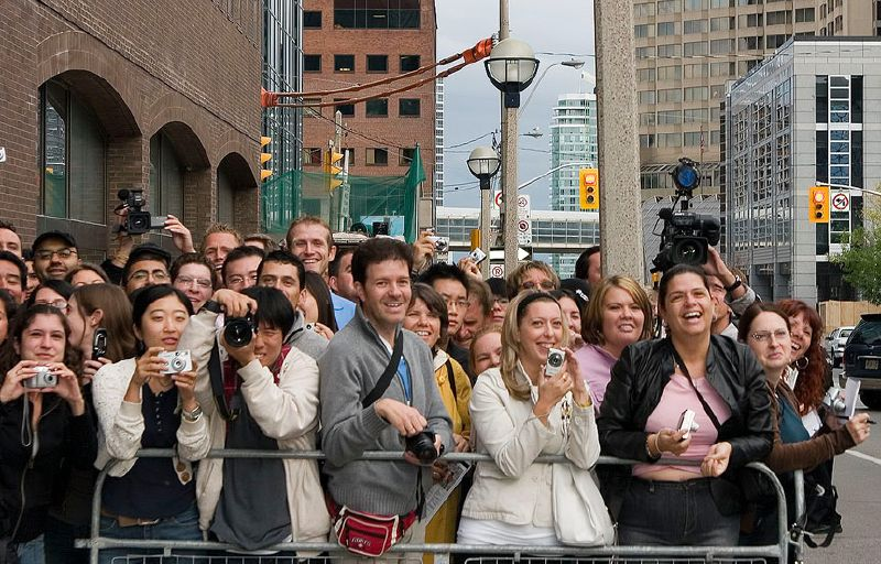 Toronto International Film Festival Fans