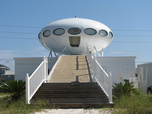 Futuro House in Pensacola Beach