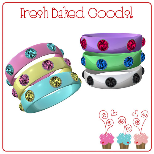 ~*FBG*~ Sweet Shoppe Bangle Trio Gift