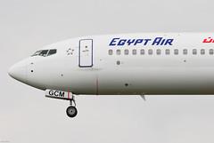 Egypt Air Boeing 737-866 SU-GCM (22927) (Thomas Becker) Tags: plane germany airplane geotagged deutschland airport nikon hessen frankfurt aircraft cairo cai boeing d200 tamron flugzeug spotting fra 737 200500 fraport b737 737800 rheinmain staralliance egyptair b737800 noseshot eddf aerotagged luftfahrzeug 130906 290906 sugcm aero:man=boeing aero:model=737 aero:series=800 aero:airport=eddf aero:airline=msr 080824 aero:tail=sugcm b737866 737866 aviationphoto ms785 geo:lat=50039323 geo:lon=8596877 cn35558 ln2054