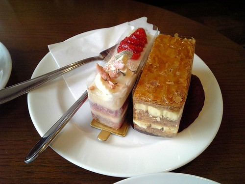エーグル・ドゥースのケーキ