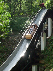 'Raging River' log flume, Ocean Park