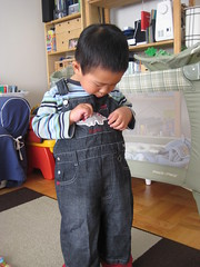 Dino Overalls from Aunty Leng