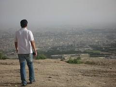 (Ali Mirghaderi) Tags: city blue white mountain me persian iran persia ali koh pars esfahan   irani    sofe   parsi          sofemountain alimirghaderi imadmiral   mirghaderi