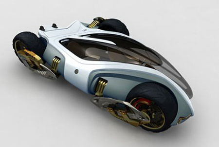 Fifteenth futuristic car photo