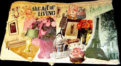 Altered Book The Art of Living
