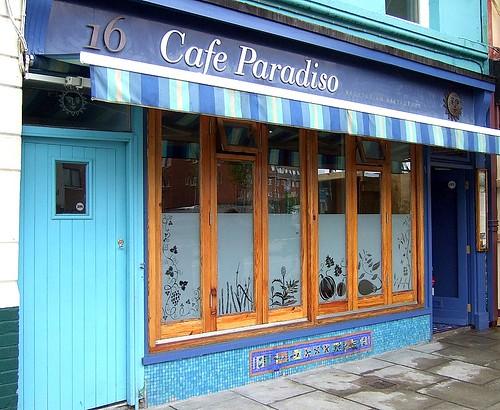 Cafe Paradiso exterior