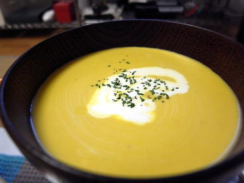 091 冷たいかぼちゃスープ