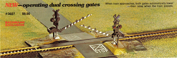 Dual Crossing Gates