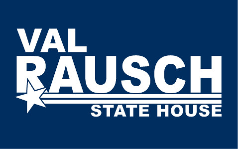 Rausch for House yard sign