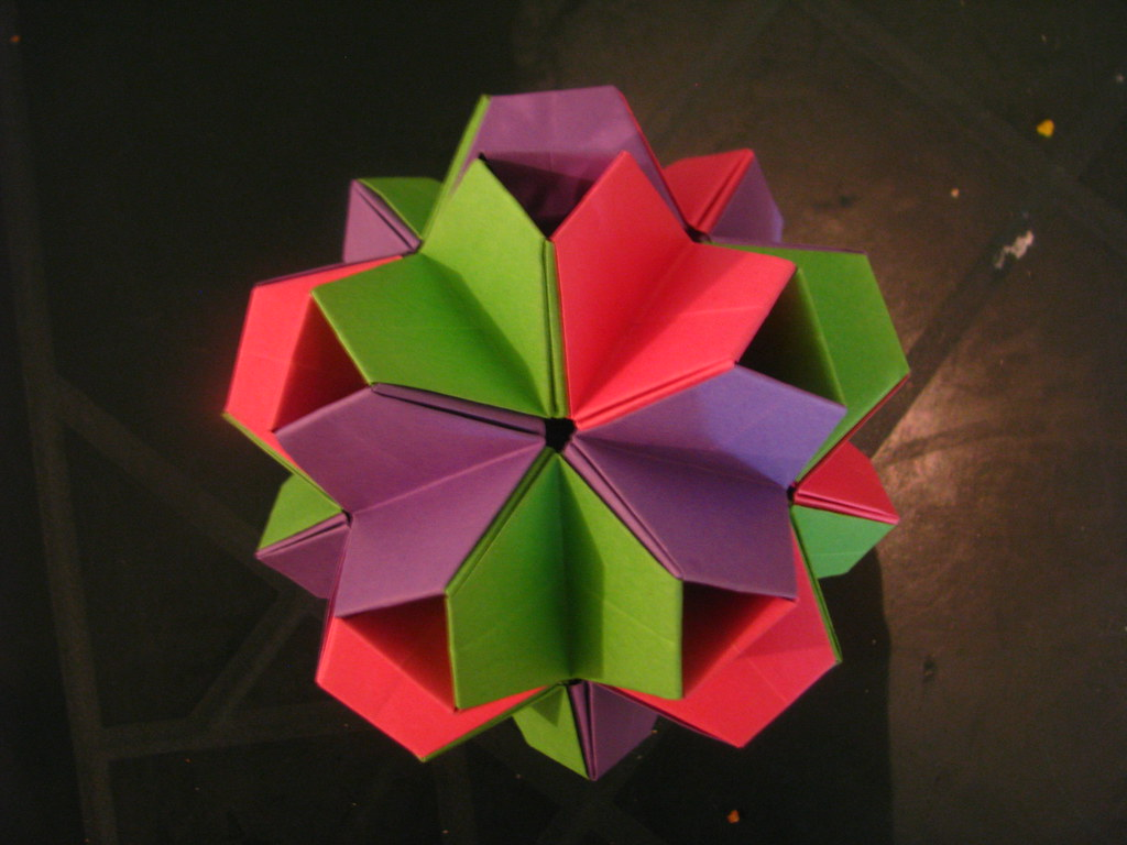 The World's Best Photos of origami and poliedro - Flickr ... - photo#50