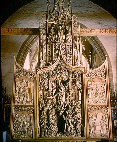 Creglingen - Woodcarved Altar