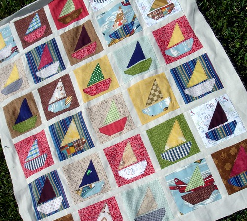 boat quilt top