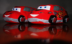 Tyler\'s Lighting McQueen Slippers