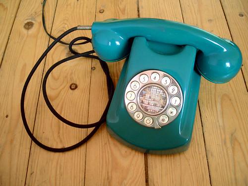 ♥ teal-phone