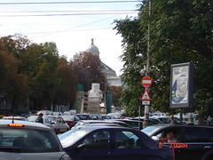 Romania 2008 067 (divagurlmom) Tags: statue person some important