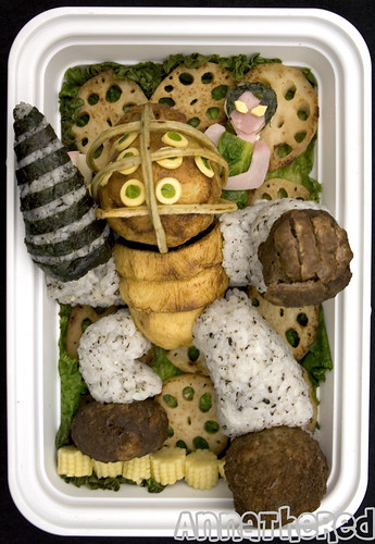 Bento #21: Bioshock Big Daddy & Little sister!