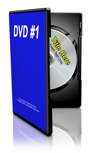 DVD ecover box actions
