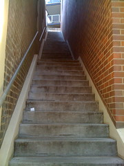 Stairways to nowhere