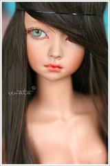 Soleil (r e n a t a) Tags: macro canon toy doll brinquedo tan mini hobby hippie bjd resin resina brunette boneca pagandopeitinho balljointeddoll bronzeada yisol supia 43cm cabeloderiponga