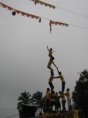 Can we reach Dahi Handi? (Jennifer Kumar) Tags: krishna humanpyramid hindu 2008 ajoy dahihandi krishnajayanthi gokulasthami janamasthami hinduholidays alaivanicontributors