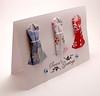Mini Origami Dress Card