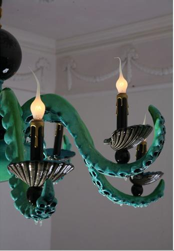 Octo Chandelier (detail)