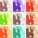 Omaggio a Giovanni Pisano e Andy Warhol - Cariatide ghignante, Collegiata di San Quirico d'Orcia (SI)