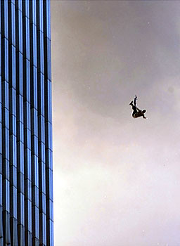 jumping from world trade center
