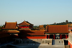 The Forbidden City (Snow Kisses Sky) Tags: china red building architecture beijing royal forbidden gugong the city