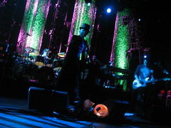 March Hare - 12/8/08 (slowdawn) Tags: chicago smashingpumpkins billycorgan auditoriumtheatre jimmychamberlin jeffschroeder 12808 lisaharriton gingerreyes gingerpooley chrispooley