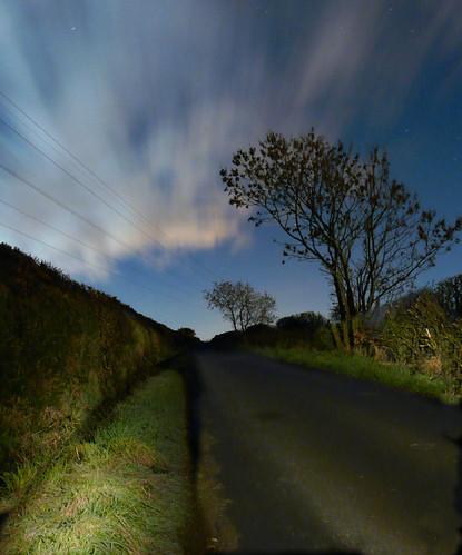 Moonlit clouds Law Hill 15Dec08