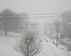 Snowy streets, 1