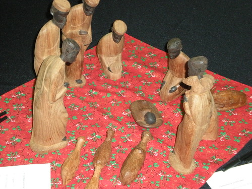 Hand Carved African Creche