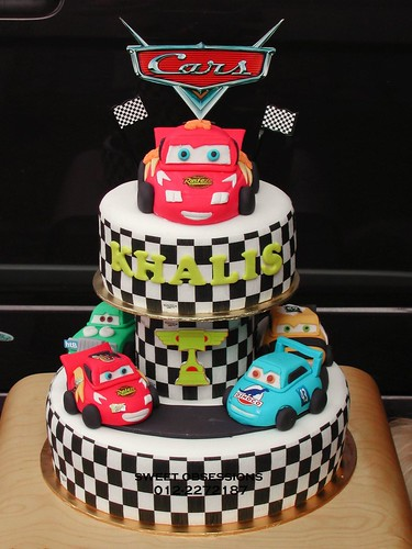 Pixar Cars Theme Cake