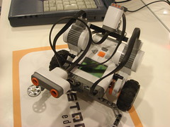 My son's Robo-Car
