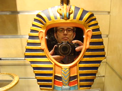 bangles: look like an egyptian (vaughan london) Tags: atlanta mirror king tissue egypt tut memento tutankhamun