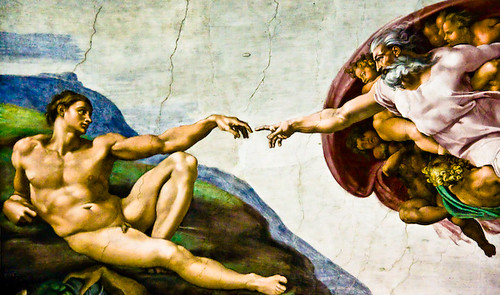 The Creation of Adam by Justin Korn