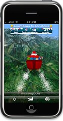 Santa On iPhone