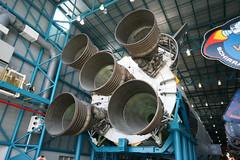 Saturn V (Martin_Bennett) Tags: moon power florida space centre nasa v rocket saturn kennedy