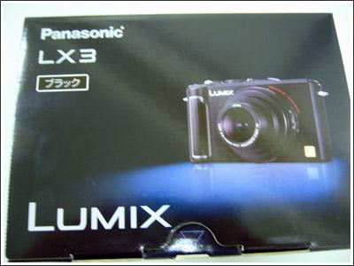LUMIX DMC-LX3 購入しました!