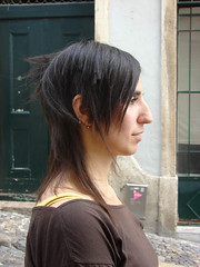 haircut female long dark (wip-hairport) Tags: haircut female dark long cut lisbon wip sharp asymmetric hairport